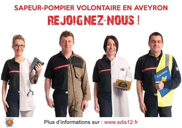 Sapeur-Pompier Volontaire en Aveyron