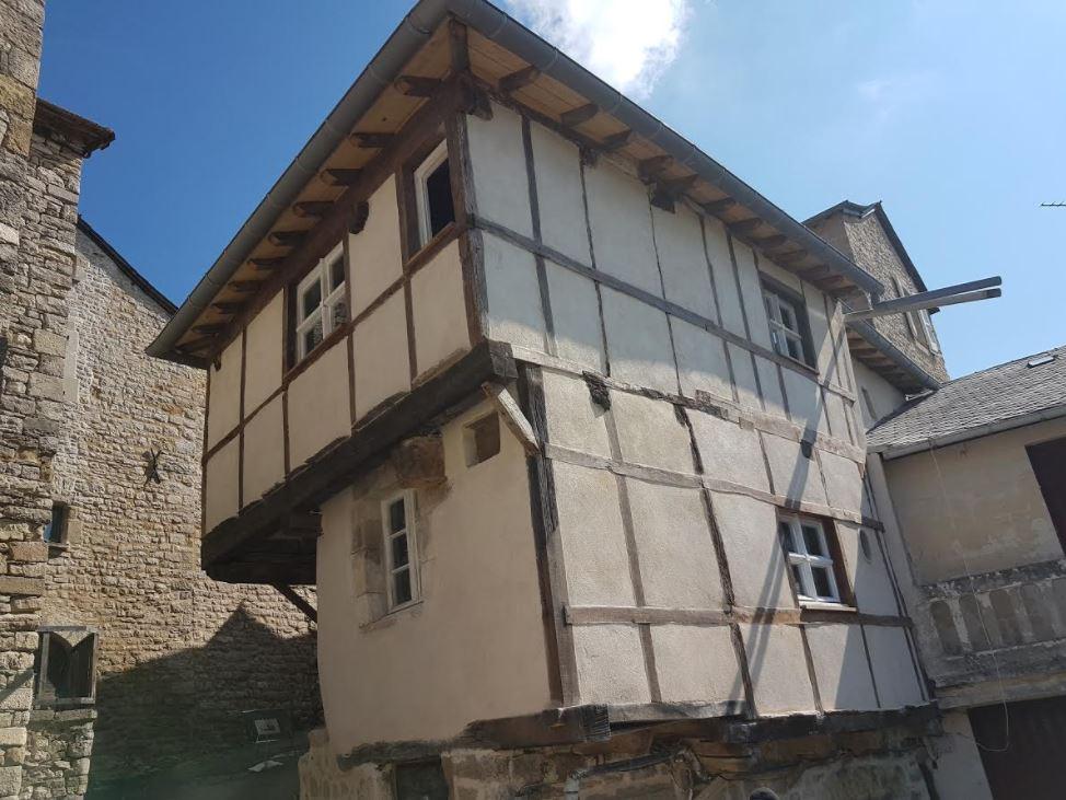 Maison de Jeanne, cité médiévale de Sévérac-le-Château