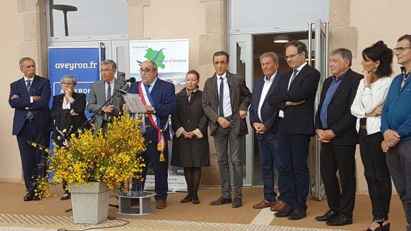 Inauguration de la nouvelle mairie de Sévérac d'Aveyron