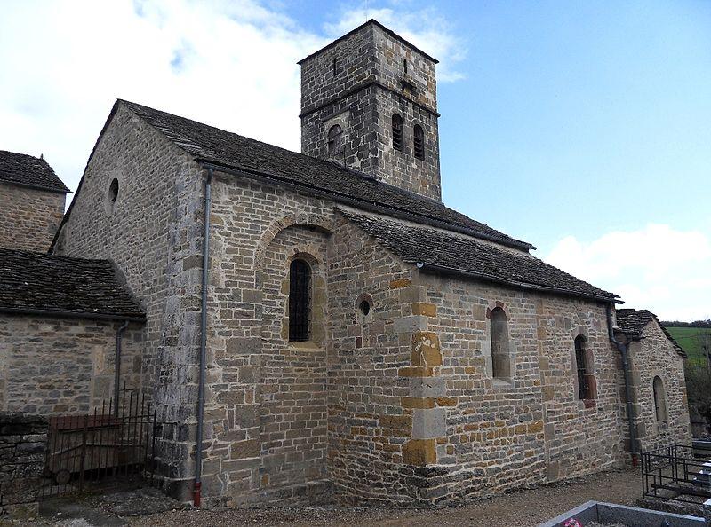 Eglise de Saint-Dalmazy, Sévérac-le-Château