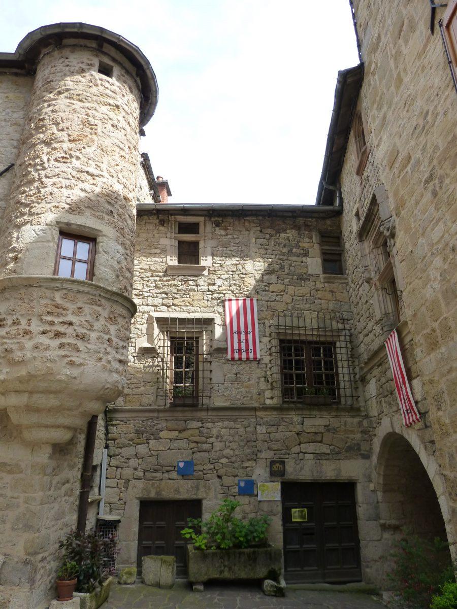 Maison des Consuls, cité médiévale de Sévérac-le-Château