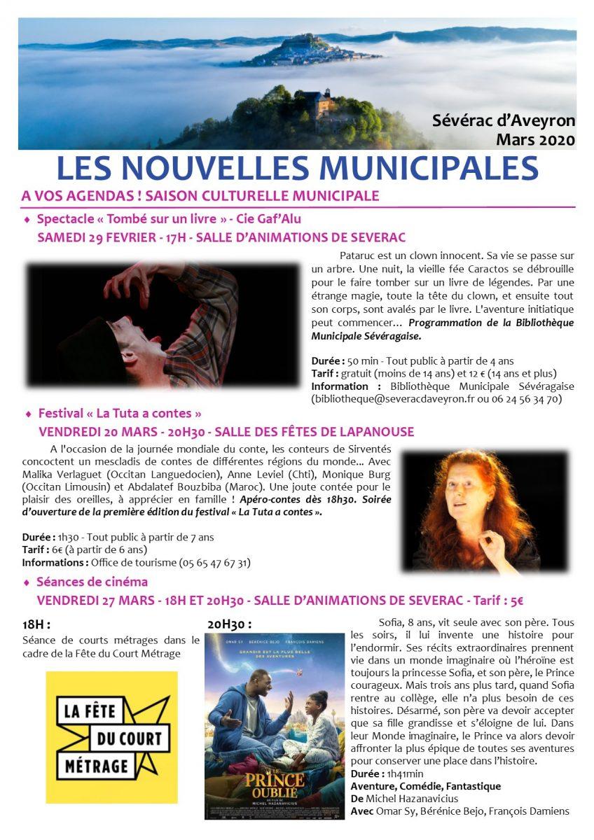 Newsletter 3 - Mars 1