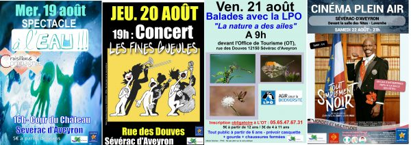 Animations de Sévérac d'Aveyron