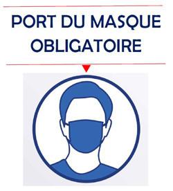 port masque obligatoire