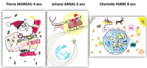 Gagnants concours dessins Mairie de Sévérac d'AVeyron